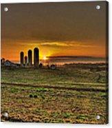 Stonehenge Of The Heartland Acrylic Print