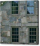 Stonehouse Windows Acrylic Print