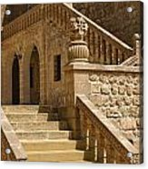 Stones And Stairs Acrylic Print