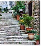Stoney Stairs Acrylic Print