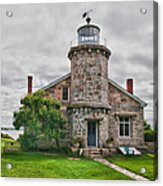 Stonington Lighthouse Museum Acrylic Print
