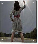 Stop The Sun Acrylic Print