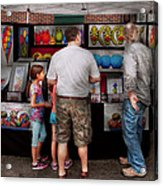 Store Front - Artist - Puppy Love  Acrylic Print