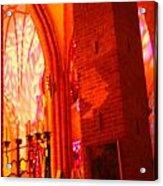 Storkyrkan I Stockholm Acrylic Print