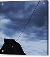 Storm Acoming Acrylic Print by Todd Sherlock