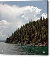 Storm Ahead Lake Tahoe Acrylic Print