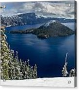 Storm Clearing At Discovery Point Acrylic Print