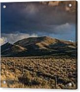Storm Clearing Over Great Basin Acrylic Print
