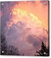 Storm Cloud Moving In On West Michigan Acrylic Print