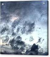 Storm Clouds At Dawn Acrylic Print