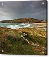 Storm Clouds Over Crookhaven Acrylic Print