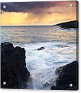 Storm Fissure Acrylic Print