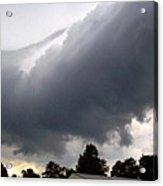 Storm Front At Rachel's Farm Acrylic Print