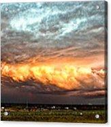 Storm Glow Acrylic Print