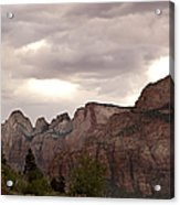 Storm In Zion Acrylic Print