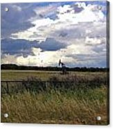 Storm Moving In Out West Acrylic Print