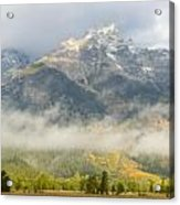 Storm On Grand Teton Acrylic Print