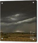Storm On The Front Range Acrylic Print