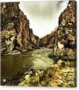 Storm On The Wind River Acrylic Print