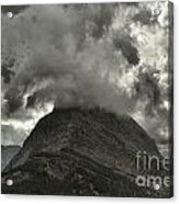 Storm Over Grinnell Acrylic Print