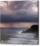 Storm Over Heceta Head  Acrylic Print