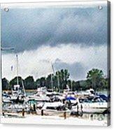 Storm Over Lake Erie Acrylic Print