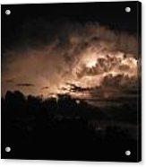 Storm Over Ocracoke Acrylic Print