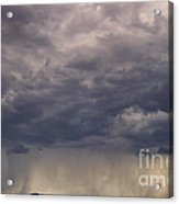 Storm Over The Mesa Acrylic Print