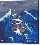 Storm Ravaged Acrylic Print
