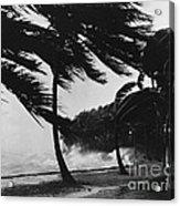 Storm Surge Acrylic Print by Omikron