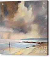 Storm Watchers Acrylic Print by Pamela Pretty