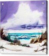 Storm's Coming. Acrylic Print