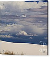 Storm's Contrast With White Sand Acrylic Print
