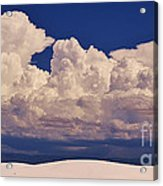 Storms Over The Mountains Acrylic Print