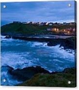 Stormy Coast, Scotland Acrylic Print