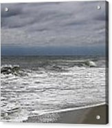 Stormy Day In Surfside Acrylic Print