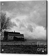 Stormy Day On The Farm Acrylic Print