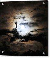 Stormy Moon Acrylic Print