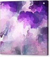 Stormy Purple Acrylic Print