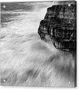 Stormy Sea 1 Acrylic Print