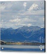 Stormy Skies In Jasper Acrylic Print
