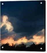 Stormy Sunset  1206 Acrylic Print