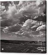 Stormy Wyoming Sky Acrylic Print