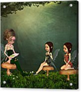 Story Timei N The Forest Acrylic Print