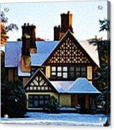 Storybook House Acrylic Print