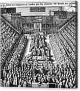 Strafford Trial, 1641 Acrylic Print