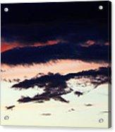 Strange Clouds Acrylic Print