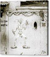 The Surreal Skeleton  Acrylic Print