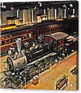 Strasburg Railroad Museum Acrylic Print