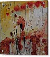 Straw And Seed Acrylic Print